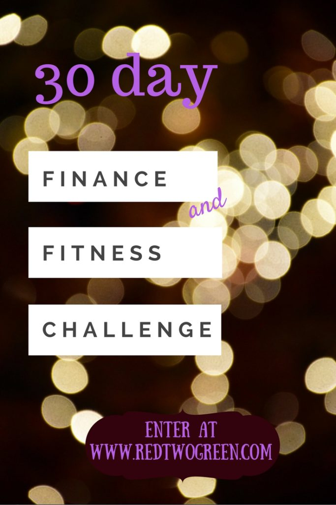 finance and fitness challenge