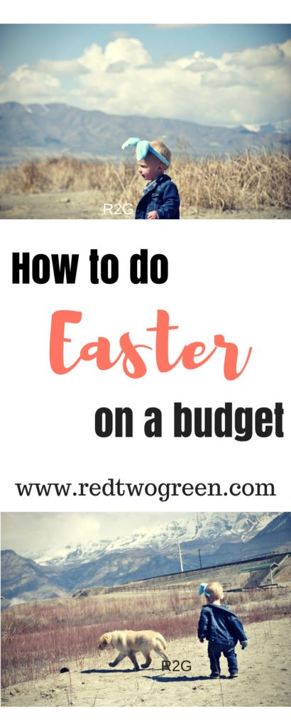 how to do Easter on a budget