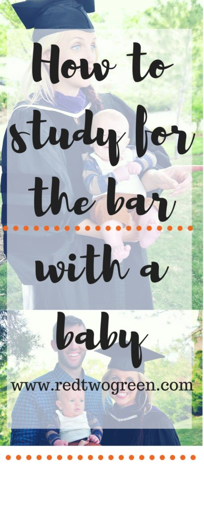 how to study for the bar with a baby